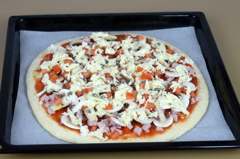 Miješana pizza