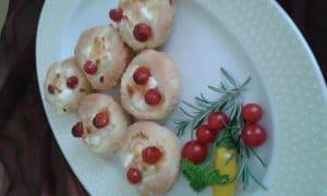 Mafini sa feta sirom i mini paradajzom