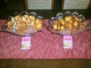Fritule s čokoladnim preljevima