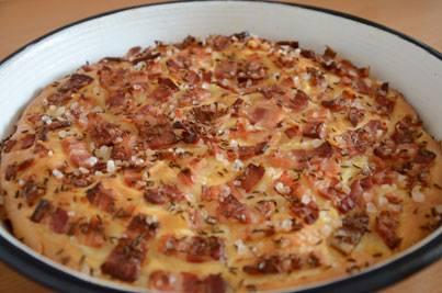 Lepinja sa suhom slaninom