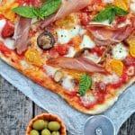Pizza s hrskavim tijestom
