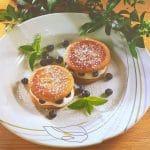 Popečci sa svježim sirom i borovnicama
