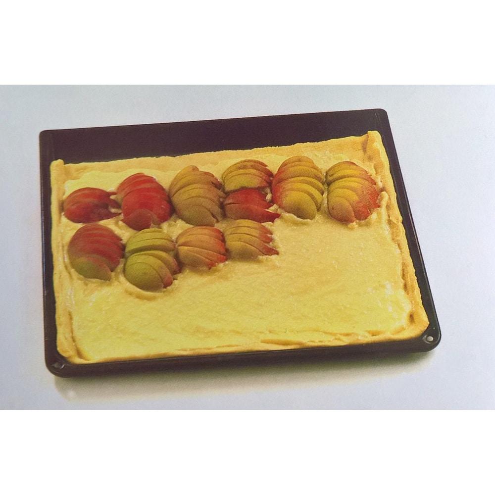 Sočni kolač od bresaka s glazurom od limuna