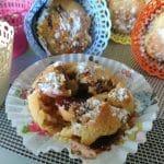 Muffini sa svježim šljivama