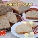 Domaći kruh (heljdin, raženi, integralni)